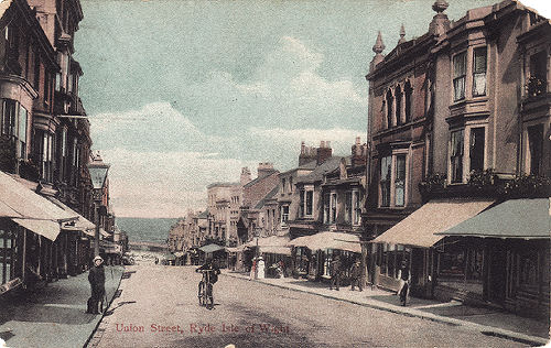 Union Street, Ryde looking towards the sea